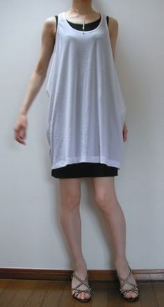 #13 loose drape tank-top