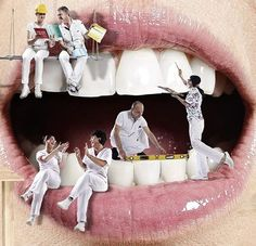 We, at SoCal Dental care, create smiles to die for. Visit us for cosmetic dentistry procedures like teeth whitening, tooth extraction, teeth alignment. Dental Logo, Dental Art, Dental Humor, Dental Pictures, Dental Images, Teeth Images, Free Dental Care, Dental Posters, Dental Office Decor