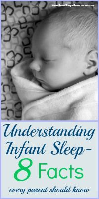 8 Infant Sleep Facts Every Parent Needs to Know - The Military Wife and Mom
