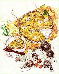 香喷喷的蘑...来自阿团丸子的图片分享-堆糖