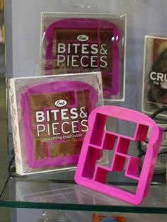 Change up a peanut butter and jelly sandwich with a cutter that creates Tetris-like bite-sized pieces.