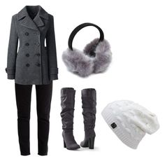 """""""winter"""" by hudzshaik on Polyvore featuring Balenciaga, Lands' End and Venus"""