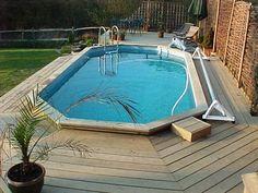 Small Timber pool