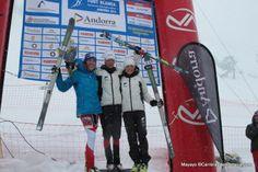 Laetitia Roux, campeona esqui de montaña skimo ismf europeo 2014 en Individual y Vertical