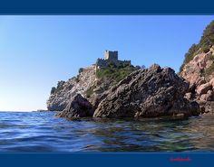 Talamone castle, Maremma in September