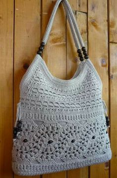 Boho Crochet, Crochet Top, Crochet Purses, Crochet Hats, Kids Bags, Crochet Stitches, Crochet Projects, Free Pattern, Fancy