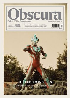 Hong Kong based seasonal lifestyle publication Obscura Magazine is set to release its issue for Summer an issue which marks the third anniversary of the title. The Japanese film genre of Tokusatsu has had a major impact in. Beer Magazine, Magazine Wall, Magazine Covers, Graphic Design Print, Graphic Design Typography, Graphic Design Illustration, Layout Inspiration, Graphic Design Inspiration, Magazine Design