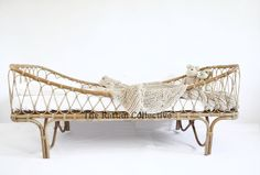 In stock for immediate delivery - Raw/single. Freight discount code available via email. This intricate handcrafted daybed will look stunning in any room whethe