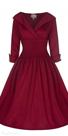 Lindy Bop 'Ramona' Vintage 50's Inspired Swing Dress