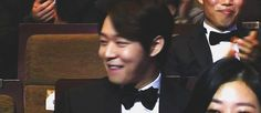 Yoochun's reaction when he was announced as the winner for...