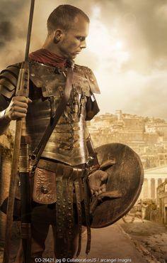 Roman soldier  http://www.arcangel-images.com photograph: collaborationjs