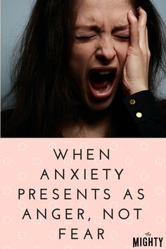 When Anxiety Presents as Anger, Not Fear