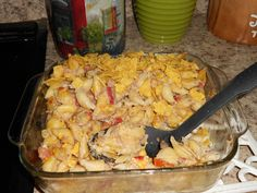 Southwestern tuna casserole- it was delicious...and I made it, not Matthew.