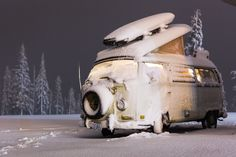VW Bus at Mt. Baker by Mahonri Gibson on 500px