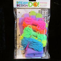 Texting Gloves Kit Craft Pom Pom Trim FASHION ANGELS - Teens - Tweens - NEW #FashionAngels