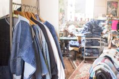 SilkDenim #silkdenim #upcycle #process #artist #denim #sewing #fashion #denim