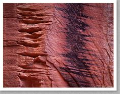 Canyon Wall Detail, Kolob Canyon, Utah