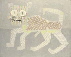 Victor Brauner, L'arrière chat (1962)