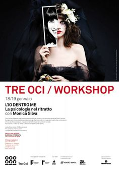 Tre Oci Poster  My Hidden Ego workshop by Monica Silva