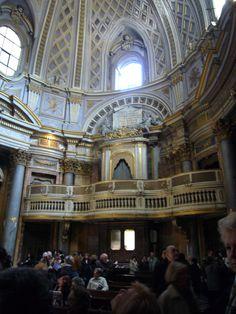 La chiesa di S. Maria dell'Orazione e Morte, a Via Giulia