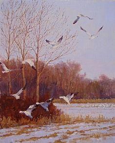Snow Fields; Kathleen Dunphy