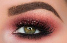 Κόκκινο μακιγιάζ ματιών!!!   EimaiOmorfi.gr