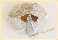 Your place to buy and sell all things handmade Angel Pendant, Diy Ornaments, Christmas Gifts, Christmas Ornaments, Soldering, Leather Cord, Sea Glass, Eco Friendly, Recycling