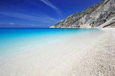 Myrtos Beach, Greek island of Kefalonia