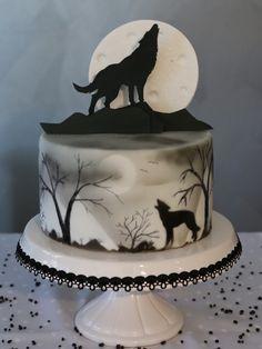 Halloween Cake Wolf Torte