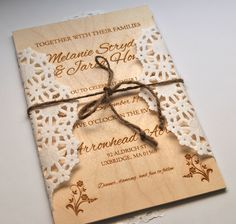 invitation wedding tree, heart tree invitation, love tree wooden, Wedding invitations