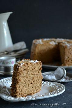 angel food cake al caffè