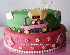 Amsterdam blond rijbewijs taart