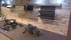 Panel 3D o wzorze kamienia, Nolte Küchen