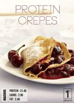 Click for our super simple recipe for protein crepes! http://1stphorm.com/1st-phorm-protein-crepes-recipe/ #1stphormrecipe #food #drink #cooking #recipe #nutrition #protein #fitness #1stphorm #legionofboom #neversettle