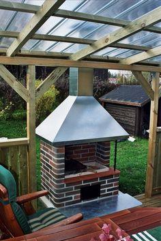 Vulcanus Bbq Grill, Barbecue, Gazebo, Pergola, Pavilion, Deco, Home And Garden, Cottage, Backyard