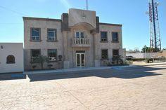 Palacio de gobierno en Bacum Son. Mx.
