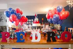 Spiderman themed birthday party with Such Fun Ideas via Kara's Party Ideas | Cake, decor, cupcakes, games and more! KarasPartyIdeas.com #spidermanparty #spiderman #superhero #partydecor #partyplanning #partyideas #partystyling #boyparty #eventstyling (9)