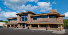 Clear Mountain Bank - Commercial Building - Gosnell Builders