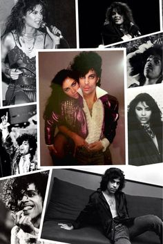 Denise Matthews & Prince back in the day...