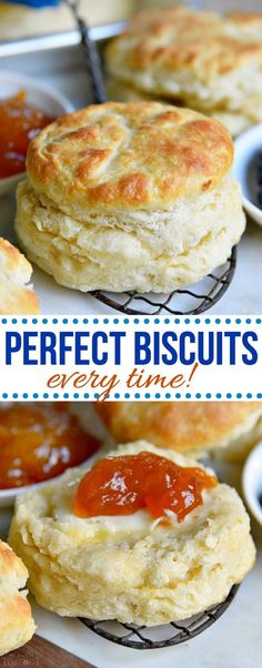 The BEST Homemade Biscuit recipe you'll ever try! These easy, homemade biscuits … The BEST Homemade Biscuit recipe you'll ever try! These easy, homemade biscuits are soft, flaky, made completely from scratch and can. Biscuit Bread, Breakfast Biscuits, Breakfast Recipes, Dinner Recipes, Easy Brunch Recipes, Homemade Breakfast, Brunch Ideas, Dessert Recipes, Dessert Biscuits