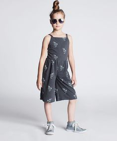Look what I found on #zulily! Dodo Graphite Scribble Crisscross Jumpsuit - Toddler & Kids by Dodo #zulilyfinds