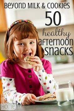 Afternoon snacks can be healthy AND delicious. Here are 50 ideas to get you started! Afternoon snacks can be healthy AND delicious. Here are 50 ideas to get you started!  #WMTProjectAPlus #ad