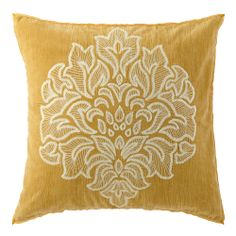 The Gala pillow brings elegant cheer to sofas, chairs and beds year round. #decorativepillows #homeaccessories