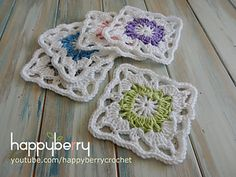 In this week's crochet tutorial I show you how to crochet my Vintage Granny Square which you can easily turn into an afghan or cushion cover. In this tutorial I go fairly slow so hopefully beginners can follow along. No chit chat, just straight to the pattern.