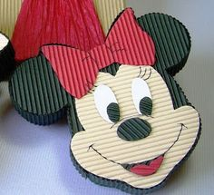 Diy Mother's Day Crafts, Mothers Day Crafts, Crafts To Make, Arts And Crafts, Paper Crafts, Mickey E Minie, Minnie Mouse, Diy Gift Box, Diy Gifts