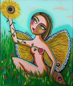 Sunflower lover by Sara Tamjidi