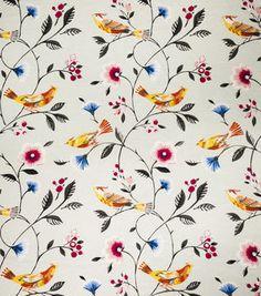 8''x8'' Home Decor Fabric Swatch-Print Fabric Eaton Square Singer Aqua