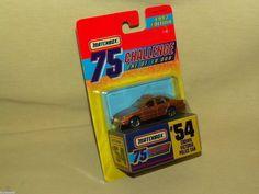 FORD CROWN VICTORIA POLICE CAR 1997 MATCHBOX 75 CHALLENGE LTD EDITION 54 GOLD #Matchbox #Ford