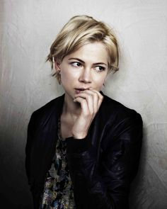 Michelle Williams by Jerome Bonnet. His portfolio is intimidating - some big names and some truly stunning shots