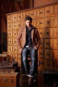Jacket & Jeans. Masculine style. Embrace luscious living with LUSCIOUS: www.myLusciousLife.com